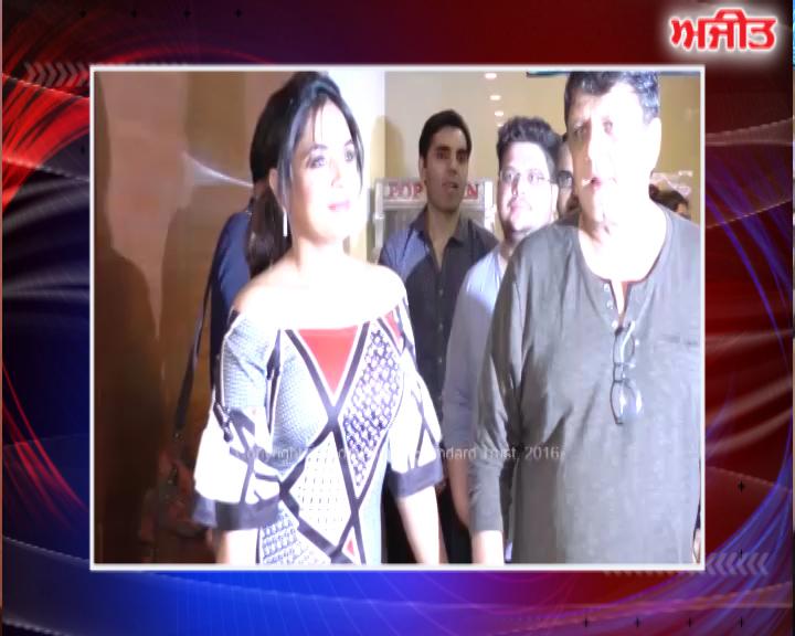 ਮੁੰਬਈ : ਰਿਚਾ ਚੱਢਾ ਦੀ ਪਹਿਲੀ ਫਿਲਮ ਦੀ ਹੋਈ ਸਪੈਸ਼ਲ ਸਕਰੀਨਿੰਗ