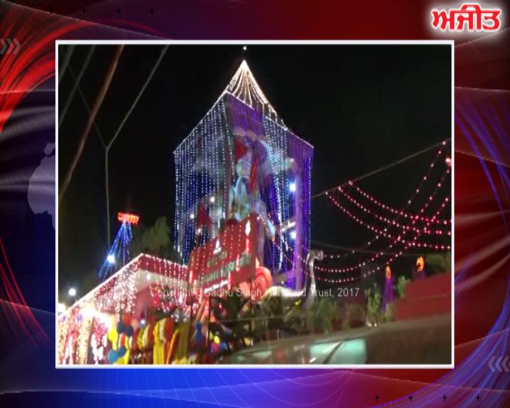 ਲੁਧਿਆਣਾ : ਸ੍ਰੀ ਹਨੂਮਾਨ ਮੰਦਰ ਦਾ 13 ਸਥਾਪਨਾ ਦਿਵਸ ਮਨਾਇਆ ਗਿਆ