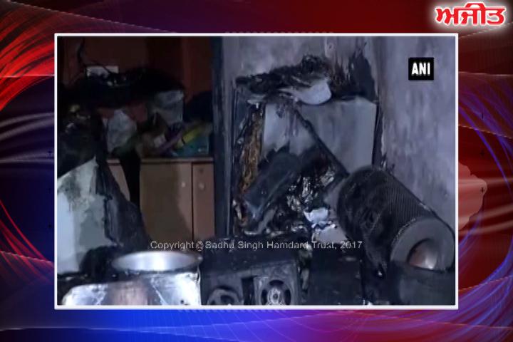 ਨਵੀਂ ਦਿੱਲੀ : ਚਾਹ ਦੀ ਦੁਕਾਨ 'ਤੇ ਫਟਿਆ ਸਿਲੰਡਰ, 5 ਮੌਤਾਂ