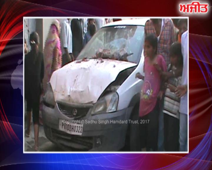ਲੁਧਿਆਣਾ : ਕੰਧ ਤੋੜਦੀ ਹੋਈ ਘਰ 'ਚ ਵੜੀ ਬੇਕਾਬੂ ਕਾਰ, 5 ਸਾਲਾਂ ਬੱਚੇ ਦੀ ਮੌਤ