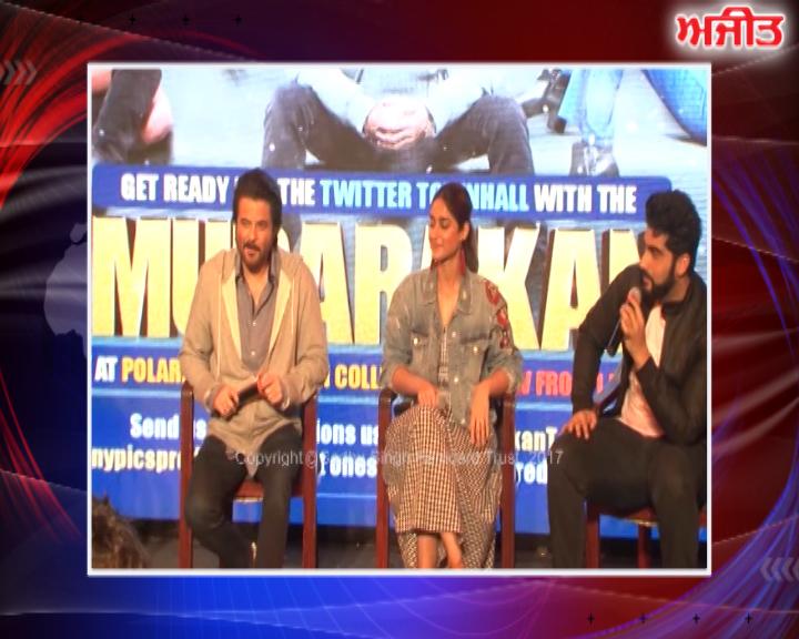 ਮੁੰਬਈ : 'ਮੁਬਾਰਕਾਂ' ਦੀ ਟੀਮ ਨੇ ਕਾਲਜ 'ਚ ਕੀਤਾ ਫਿਲਮ ਦਾ ਪ੍ਰਚਾਰ