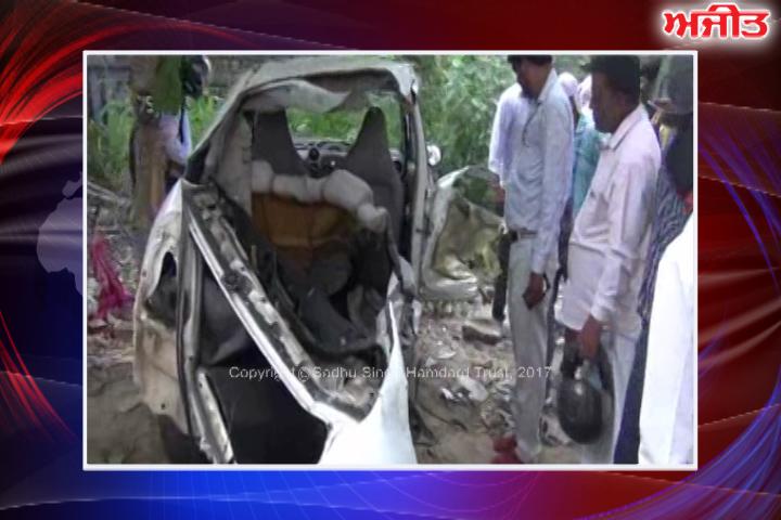 ਫ਼ਰੀਦਾਬਾਦ : ਕਾਰ ਦੇ ਦਰੱਖਤ ਨਾਲ ਟਕਰਾਉਣ ਕਾਰਨ 2 ਨੌਜਵਾਨਾਂ ਦੀ ਮੌਤ, 3 ਜ਼ਖਮੀ
