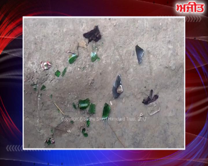 ਜਲੰਧਰ : ਅਣਪਛਾਤੇ ਵਿਅਕਤੀਆਂ ਵੱਲੋਂ ਇੱਕ ਘਰ 'ਤੇ ਪਟਰੋਲ ਬੰਬ ਨਾਲ ਹਮਲਾ